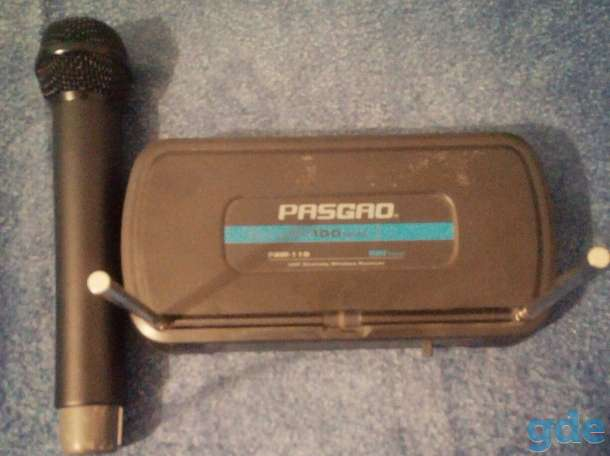Продаю радио систему PASGAO PAW110+PAH 315, фотография 1