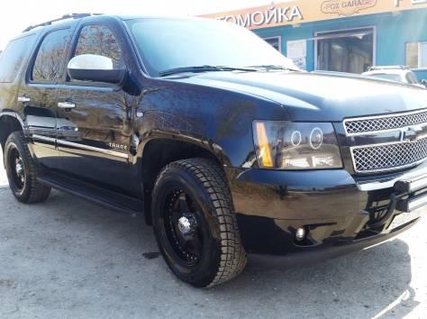 Продается Chevrolet Tahoe чёрный внедорожник, 2012 г., фотография 4