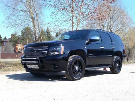 Продается Chevrolet Tahoe чёрный внедорожник, 2012 г., фотография 12