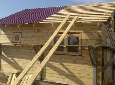 Строительство бани от фундамента до крыши своими руками