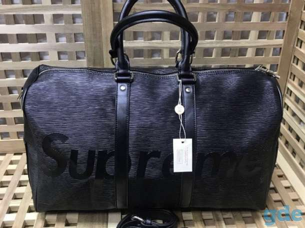 ff13df4a6b6c Дорожная сумка Louis Vuitton x Supreme | Дорожные сумки в Санкт ...