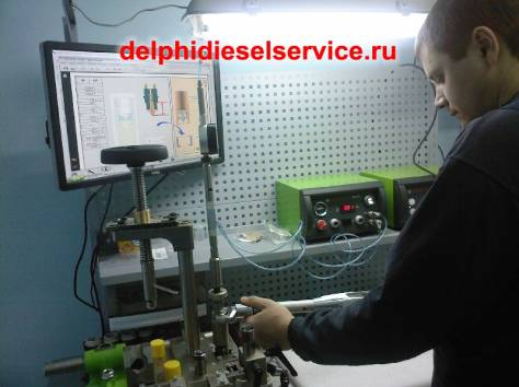 Ремонт ФОРСУНОК CDI дизеля RENAULT (рено) Premium (премиум) 420 DCI., фотография 5