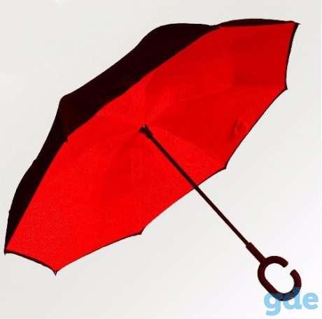 ветрозащитный зонт обратного сложения Smart umbrella от 750 руб, фотография 6