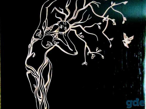 Лучший необычный подарок - гравировка по дереву, фотография 1