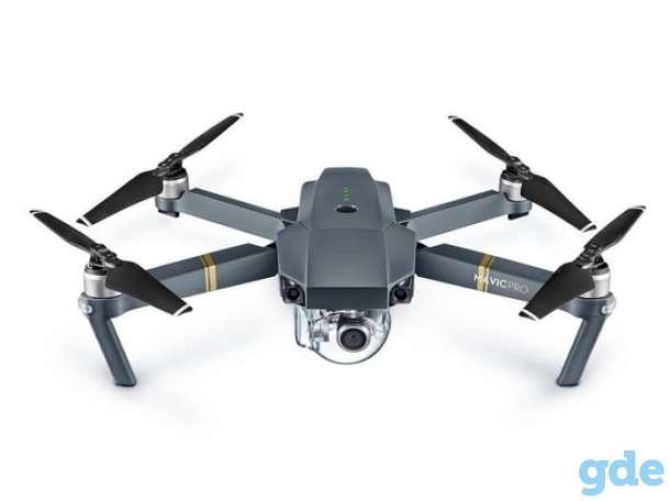 Дрон квадрокоптер DJI MAVIC PRO для видеонаблюдения за террторией, фотография 1