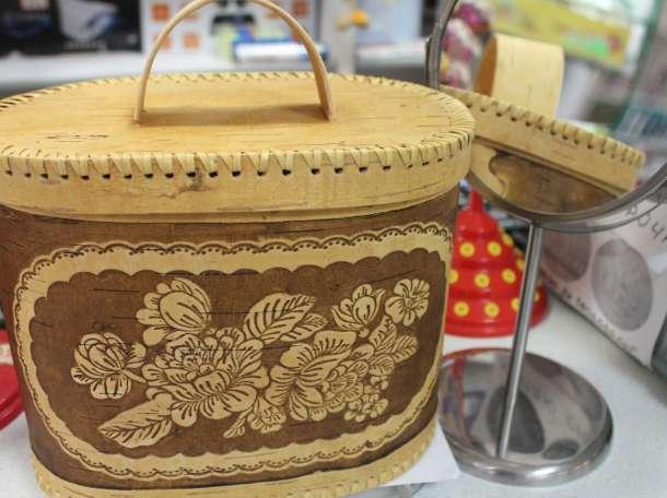 Хлебница из натуральной бересты, фотография 1