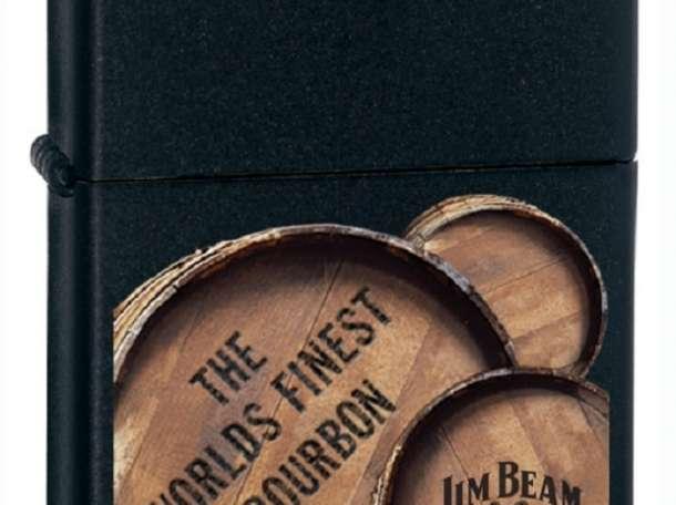 Зажигалка Zippo 21019 Jim Beam 3 Barrels, фотография 1