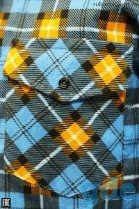 Рубашки и пижамы  утепленные фланелевые для мужчин. Свое производство., фотография 5