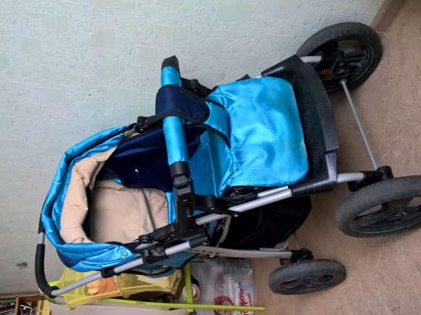 Продам детскую коляску 2 в 1 Teddy Bart Plast Viola , фотография 3