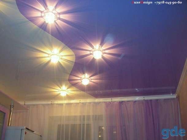 Комбинированные натяжные потолки -красота в вашем доме, фотография 1