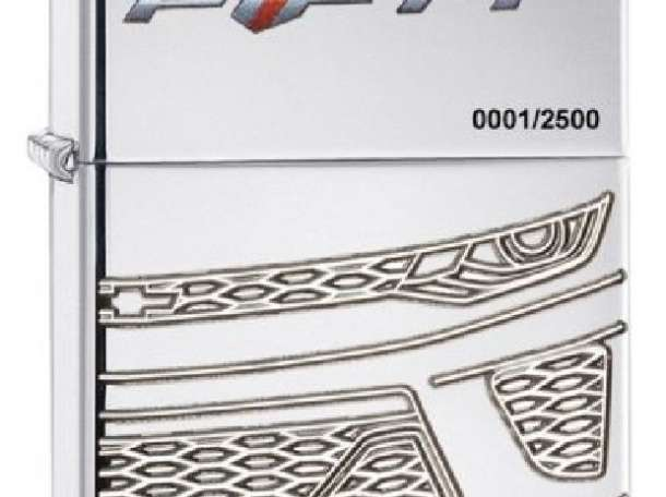 Зажигалка Zippo Armor Camaro 50Th Anniversary, фотография 1