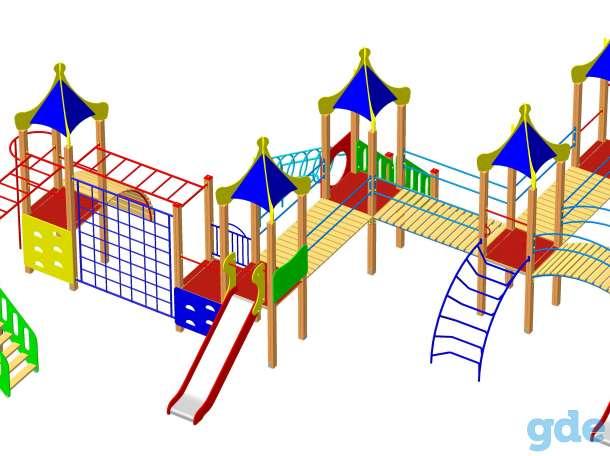 Детское  уличное игровое оборудование от производителя, фотография 10