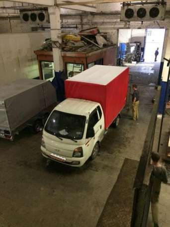 Изготовление тента для грузового автомобиля Портер, фотография 2
