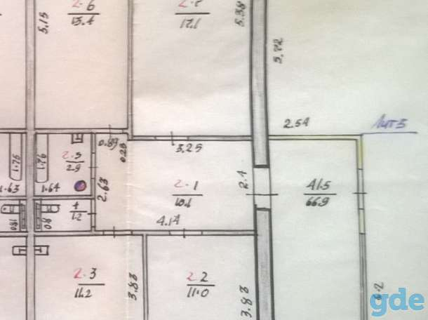Продам 1/2 часть дома, с. Хороль, ул. Луговая, фотография 8