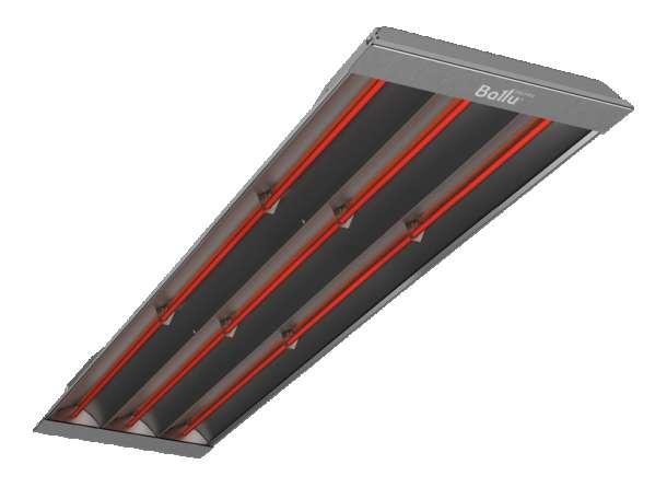 Инфракрасные обогреватели с открытыми ТЭНами 3 -4,5 -6 кВт, фотография 1