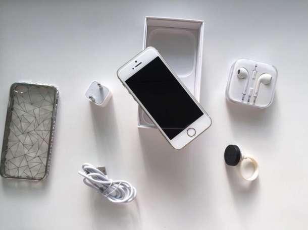Продам iPhone 5s 16Gb Gold + подарок, фотография 1