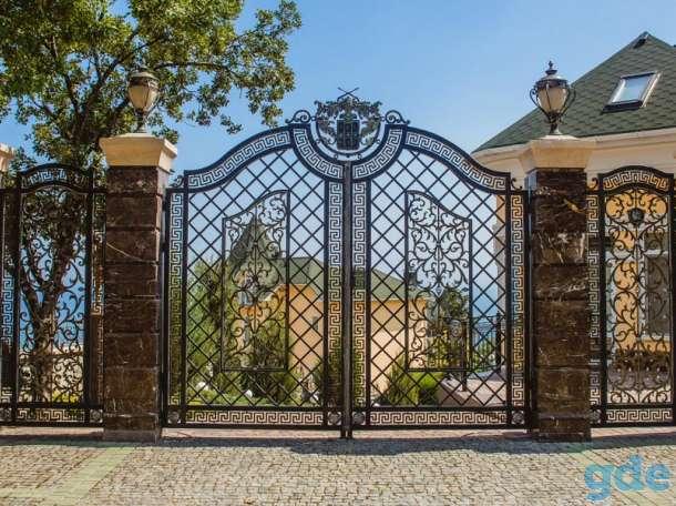 ворота, лестницы, заборы, калитки, ограждения, навесы, беседки, фотография 1