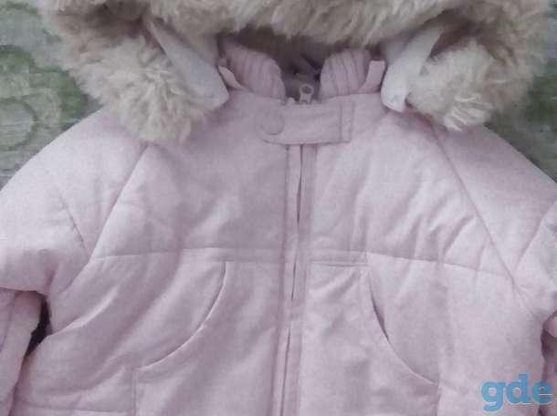 Продам утепленный розовый комбинезон с капюшоном., фотография 2