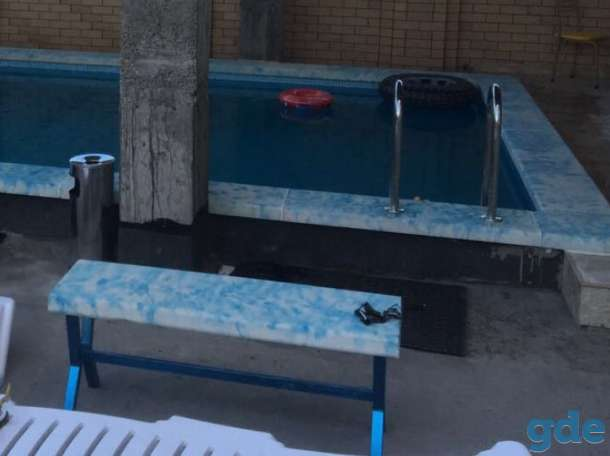 Бассейны Перила. Ступени. Заборы. Балясины.  Колонны. Бассейны. Мебель для бассейнов. Мозаика. Дома., фотография 12
