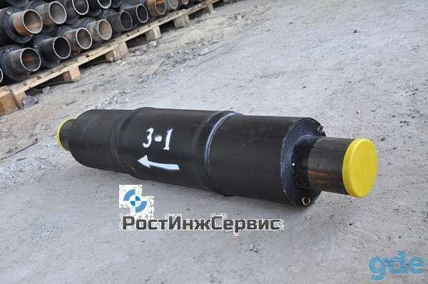 Труба в ППУ, ППМ, ВУС изоляции, компенсаторы, материалы для теплотрасс Невинномысск, фотография 2
