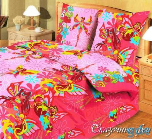 Комплект в детскую кроватку Сказочные феи, фотография 1