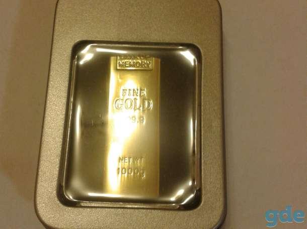 Подарочная USB флэш-карта 64 Гб Золотой слиток, фотография 2