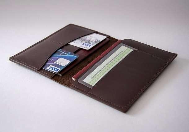 Аксессуары из кожи: портмоне, кошельки, сумочки, обложки для документов, фотография 6