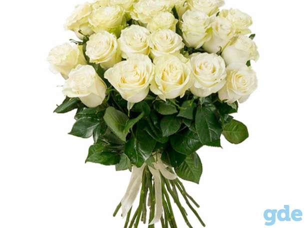 Цветы букет 25 роз Эквадор Премиум, фотография 2