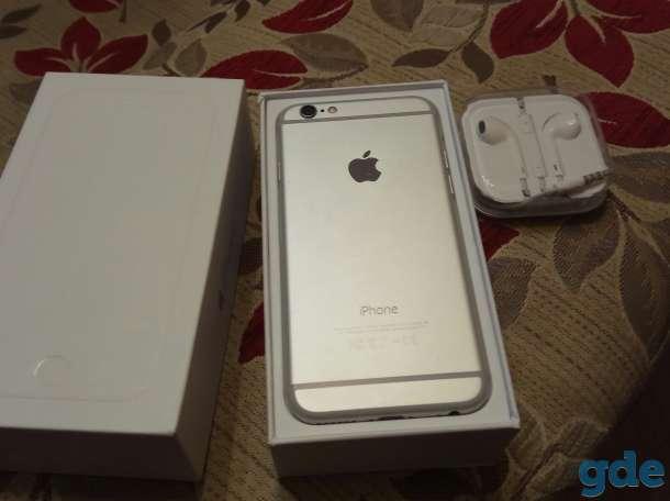 Продам IPhone 6 Silver 16G, фотография 1