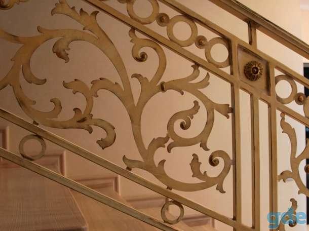 ворота, лестницы, заборы, калитки, ограждения, навесы, беседки, фотография 5