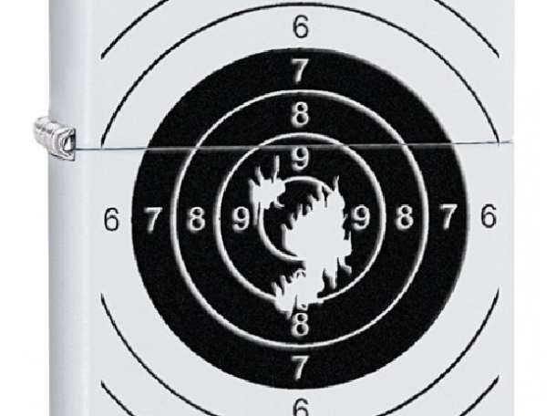 Зажигалка Zippo 29390 Shooting Target, фотография 1