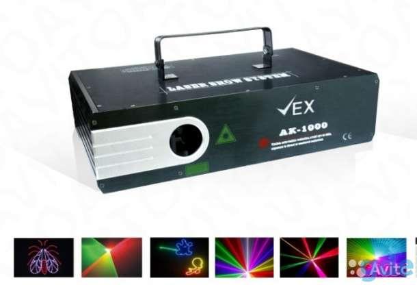 Лазер анимационный. 1W RGB, фотография 1