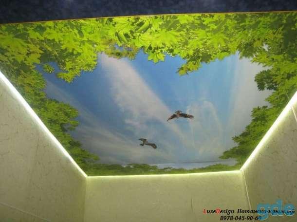 Художественные натяжные потолки Фотопечать LuxeDesign, фотография 4