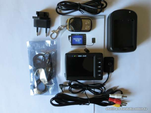Шпионская видеокамера пуговица комплект , фотография 1