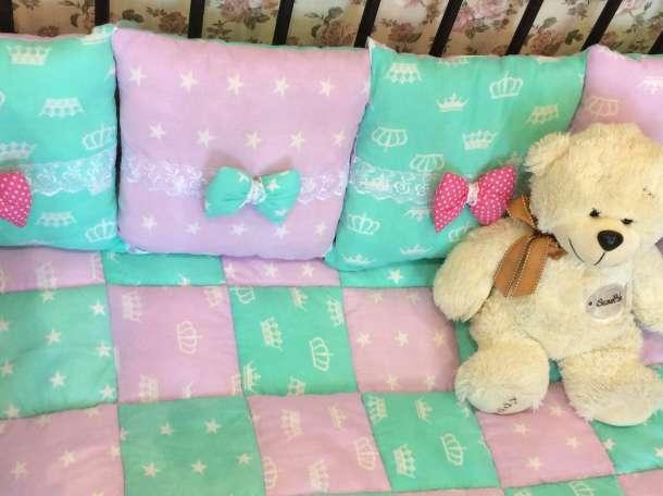Бортики в кроватку , фотография 4