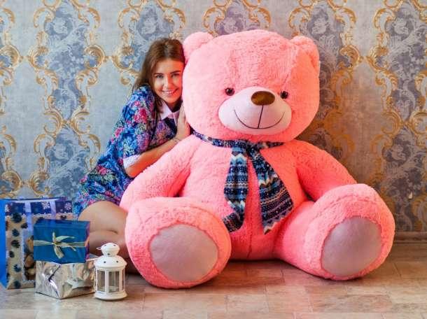 Большие плюшевые медведи и мишки, фотография 2