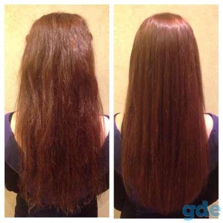 Кератиновое выпрямление волос, фотография 1