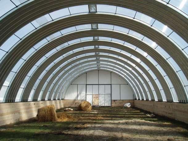 Строительство арочных ангаров, фотография 1