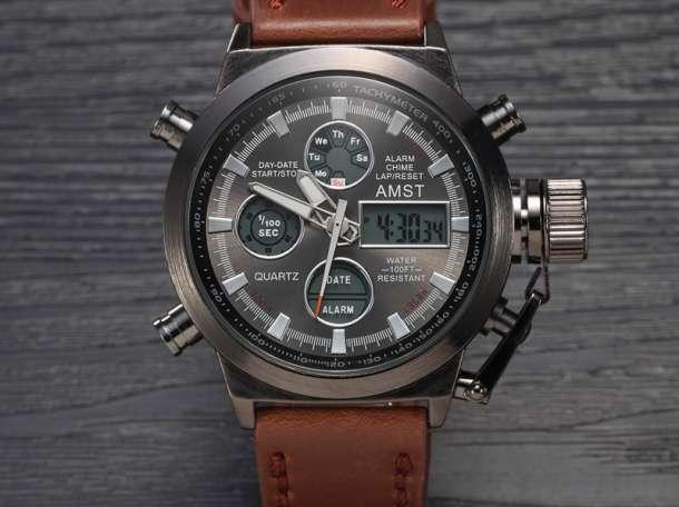 Оригинальные армейские часы AMST-3003 – настоящие часы для настоящих мужчин!, фотография 5