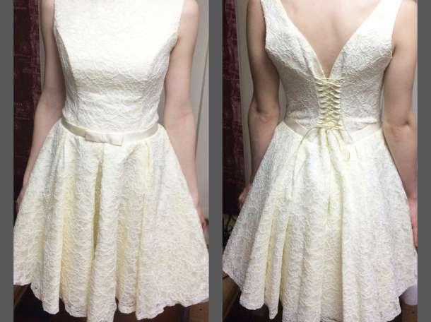 Платье (французское кружево с корсетом) +подарок, фотография 2