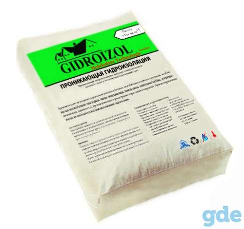 Гидроизоляционные сухие смеси  GIDROIZOL, фотография 10