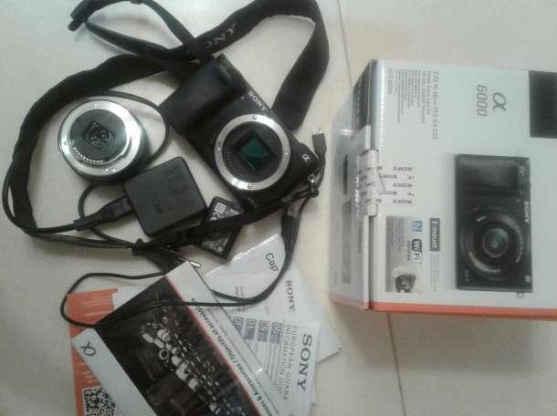 Системная камера Sony Alpha ILCE-6000 Kit, фотография 3