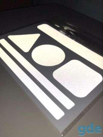 Светоотражающие тканевые наклейки, фотография 3