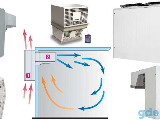 Холодильные камеры, моноблоки, сплит-ситемы, фотография 2