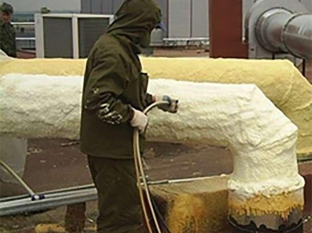 Утепление, теплоизоляция в Приморске,утепление напыляемое, утепление путем напыления, фотография 10