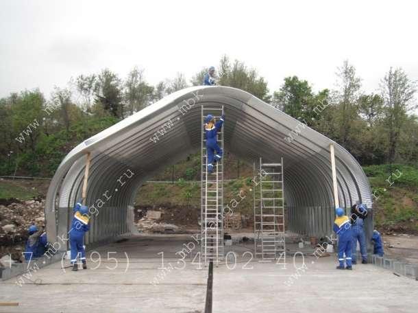 Производство и монтаж арочных ангаров в г. Смоленск, фотография 4
