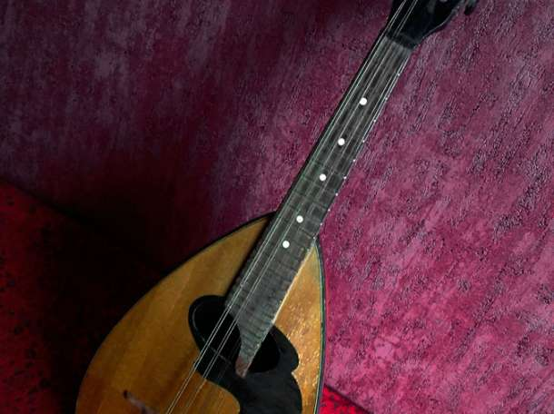 мандолина неаполитанская антикварная, фотография 2