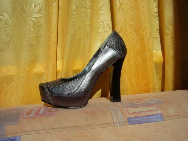 Туфли Vesconte серебристые р.35, фотография 5