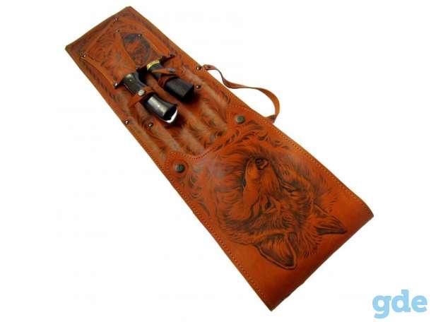 Нож,подарочный набор,топор,коптильня,барсетка, фотография 4