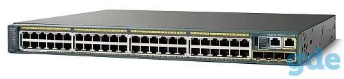 Коммутатор Cisco Catalyst WS-C2960X-48FPS-L, фотография 1
